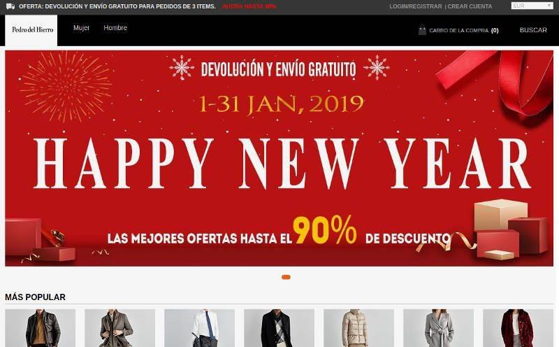 Pedrodelhetienda.shop Tienda Online Dudosa Pedro Del Hierro