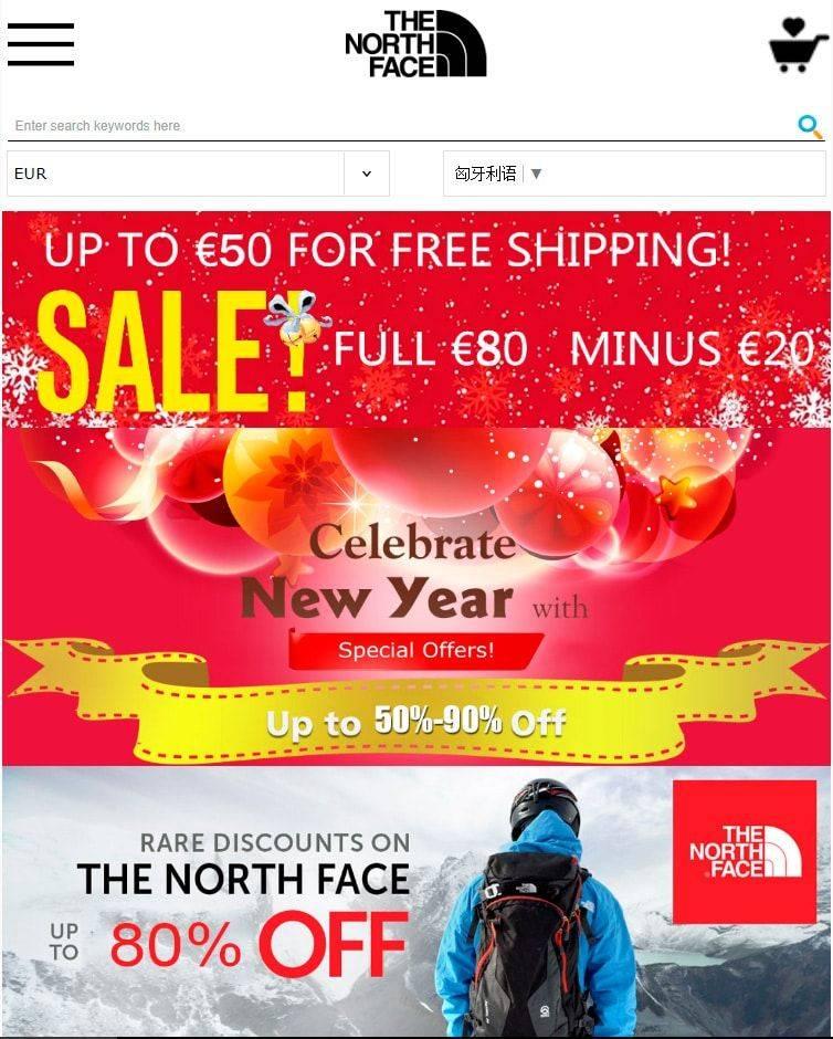 Nfviojecoo.tw Tienda Online Dudosa North Face