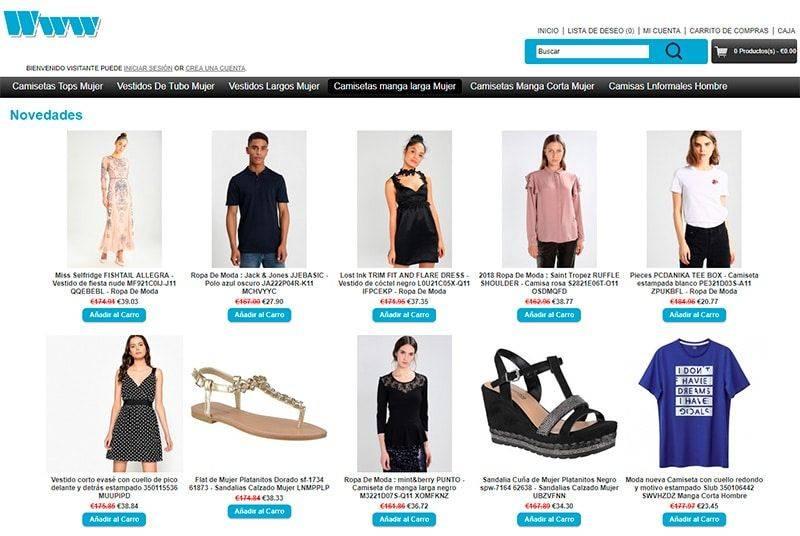 Cajalwinterconference.es Tienda Falsa Online Moda