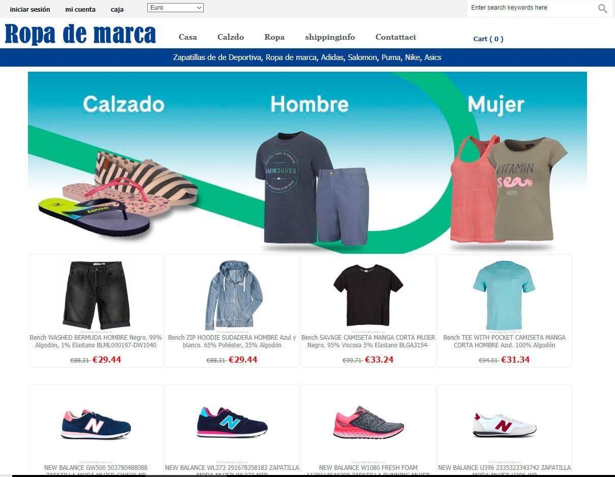 Feijooregoyasociados.es Tienda Online Dudosa Moda Marca
